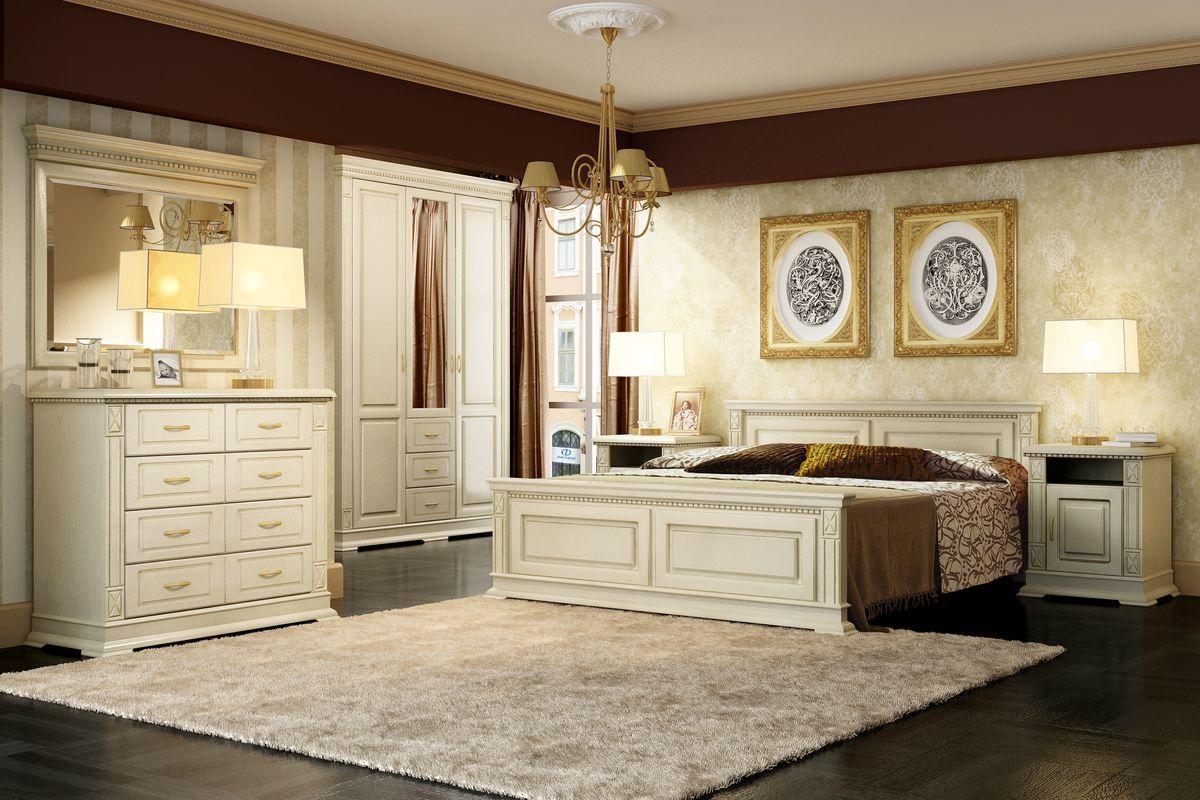 Спальные гарнитуры из массива в классическом и современном оформлении
